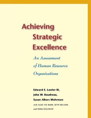 Achieving Strategic Excellence book
