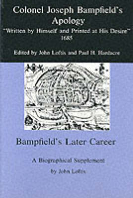 Colonel Joseph Bampfield's Apology by Joseph Bampfield