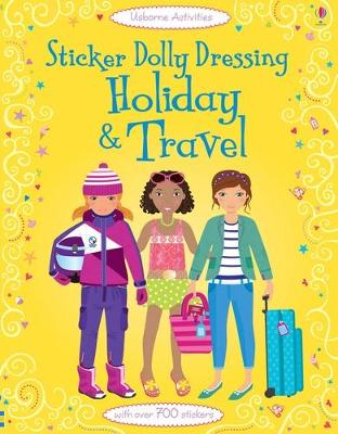 Sticker Dolly Dressing by Lucy Bowman