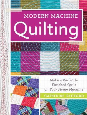 Modern Machine Quilting book