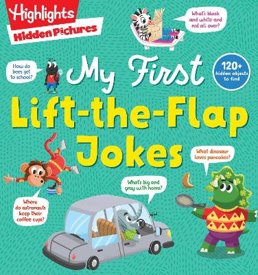 My First Lift-the-Flap Jokes book