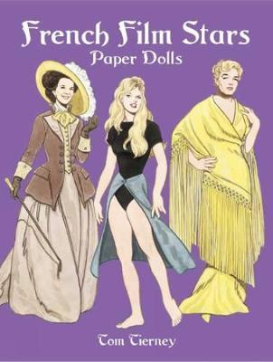 French Film Stars Paper Dolls book