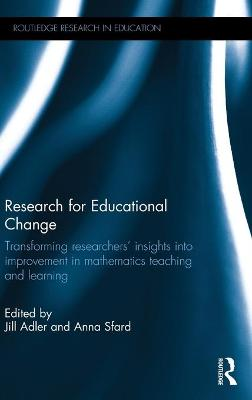 Research for Educational Change by Anna Sfard