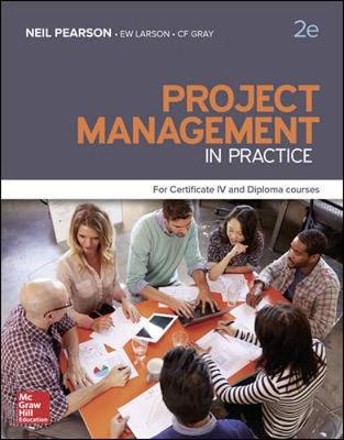 Pack Project Management in Practice For Certificate IV and Diploma 2e (includes Connect, LearnSmart) by Neil Pearson