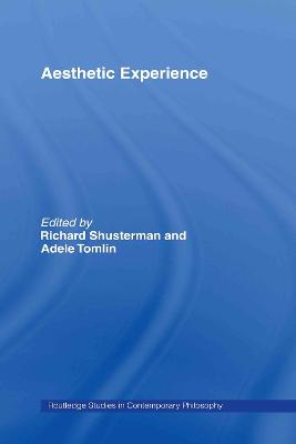 Aesthetic Experience book