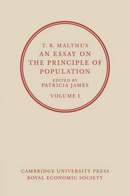 T. R. Malthus, An Essay on the Principle of Population: Volume 2 by T. R. Malthus