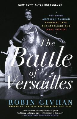 Battle of Versailles book
