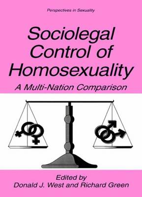 Sociolegal Control of Homosexuality book