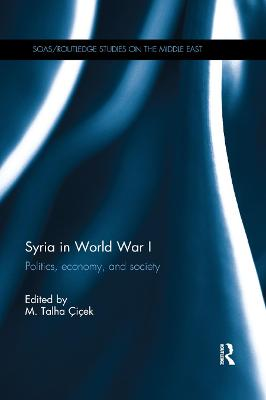 Syria in World War I: Politics, economy, and society book
