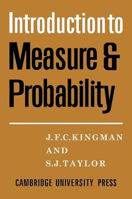 Introdction to Measure and Probability book