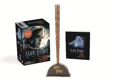 Harry Potter Hermione's Wand with Sticker Kit: Lights Up! by Running Press