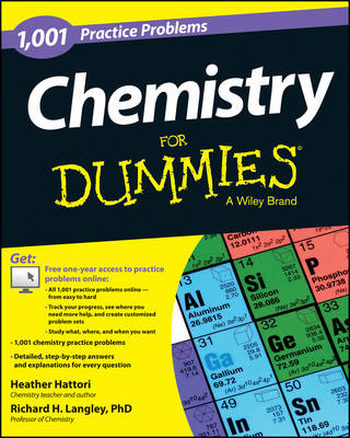 1,001 Chemistry Practice Problems for Dummies by Heather Hattori