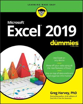 Excel 2019 For Dummies by Greg Harvey