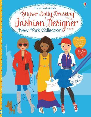 Sticker Dolly Dressing Fashion Designer New York Collection by Fiona Watt