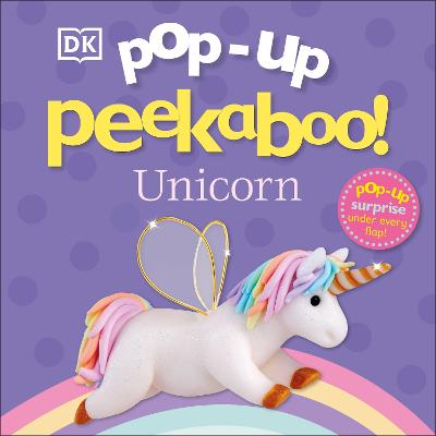 Pop-Up Peekaboo! Unicorn book