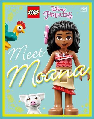 LEGO Disney Princess Meet Moana book