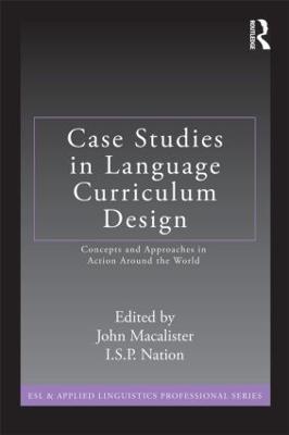 Case Studies in Language Curriculum Design book