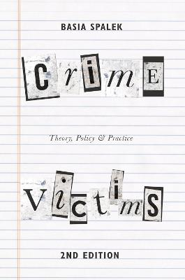 Crime Victims by Dr. Basia Spalek