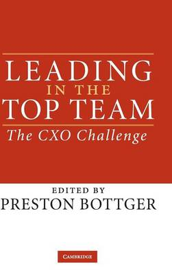 Leading in the Top Team book