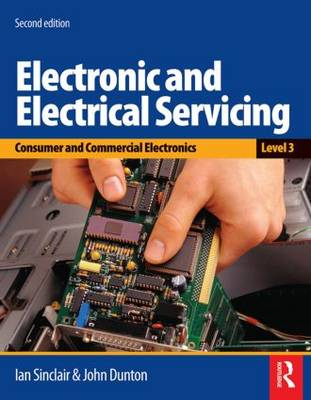 Electronic and Electrical Servicing by Ian Robertson Sinclair