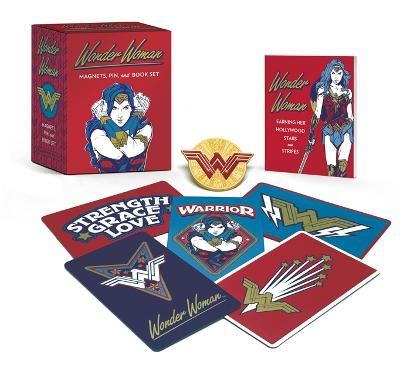 Wonder Woman: Magnets, Pin, and Book Set book