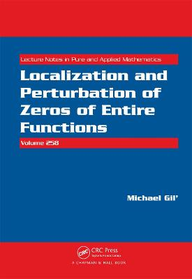 Localization and Perturbation of Zeros of Entire Functions book