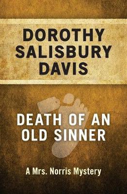 Death of an Old Sinner by Dorothy Salisbury Davis