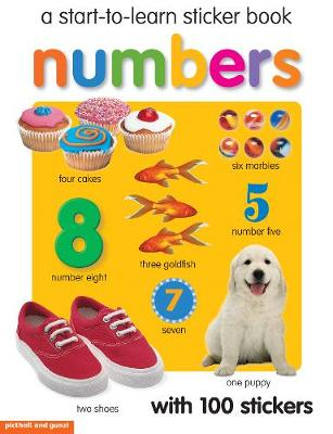 Start To Learn Numbers Sticker Book book