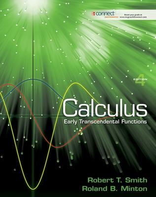 Calculus: Early Transcendental Functions by Robert T Smith