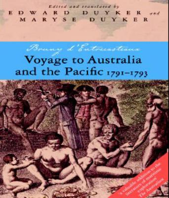 Voyage To Australia And The Pacific book