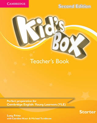 Kid's Box Starter Teacher's Book by Lucy Frino