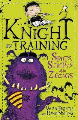 Knight in Training: Spots, Stripes and Zigzags by David Melling