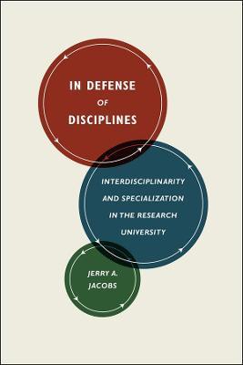 In Defense of Disciplines book
