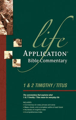 1 Timothy, 2 Timothy, Titus Lab Comm by Bruce B Barton
