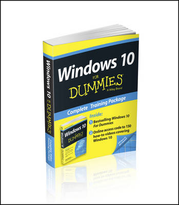 Windows 10 for Dummies Book+online Videos Bundle by Andy Rathbone