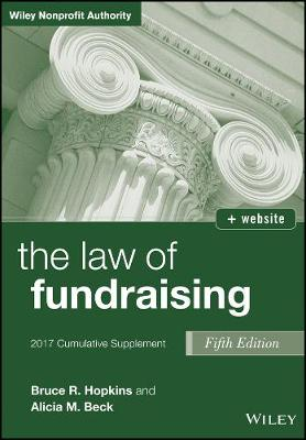 The The Law of Fundraising Cumulative Supplement by Bruce R. Hopkins