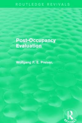 Post-Occupancy Evaluation book