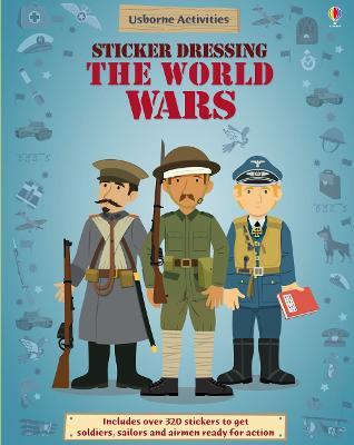 Sticker Dressing The World Wars by Lisa Jane Gillespie