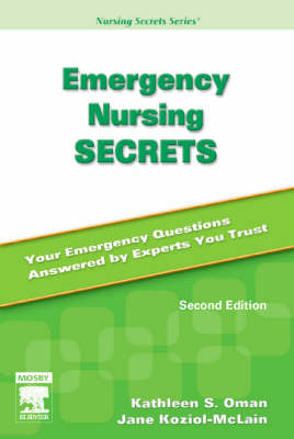 Accident and emergency nursing book