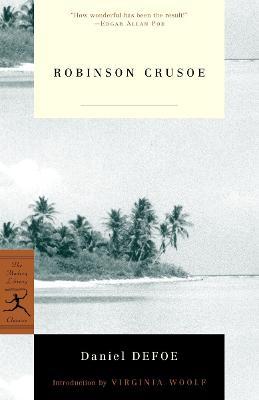 Mod Lib Robinson Crusoe by Daniel Defoe
