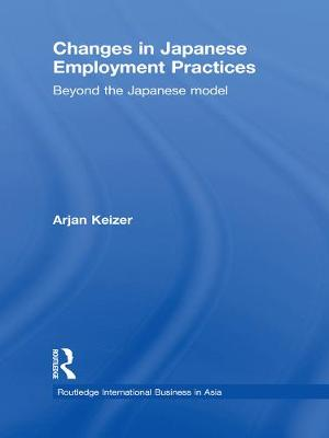 Changes in Japanese Employment Practices book