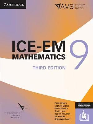 ICE-EM Mathematics 3ed Year 9 Print Bundle (Textbook and Interactive Textbook) by Peter Brown