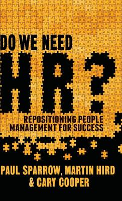 Do We Need HR? by J. Michie