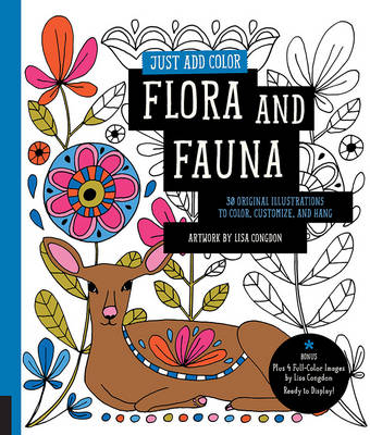 Just Add Color: Flora and Fauna by Lisa Congdon