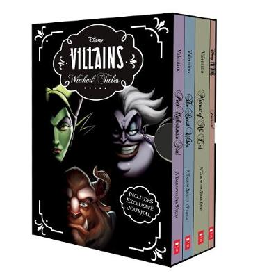 Disney: Villains Wicked Tales Boxed Set (Books 1-3 and Journal) by