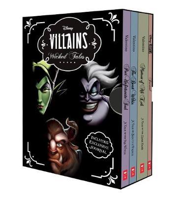 DISNEY VILLAINS BOXED SET by