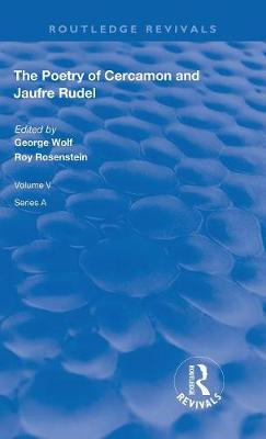 The Poetry of Cercamon and Jaufre Rudel book