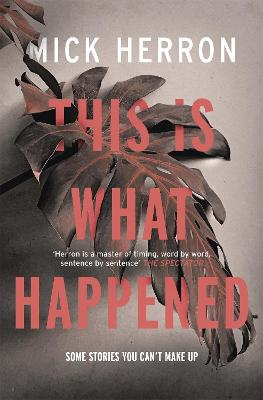 This is What Happened book