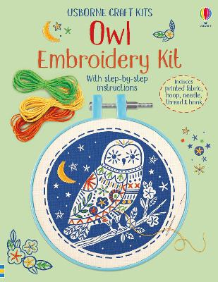 Embroidery Kit: Owl book