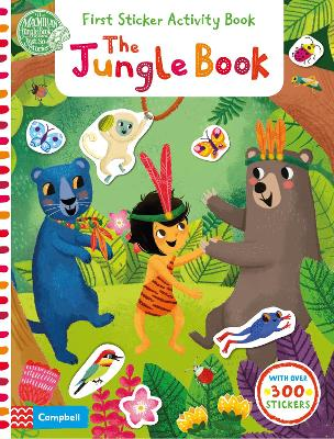 The Jungle Book: First Sticker Activity Book by Miriam Bos